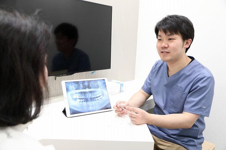 大阪のHANA Intelligence 歯科•矯正歯科では、インビザライン 矯正の相談が無料です